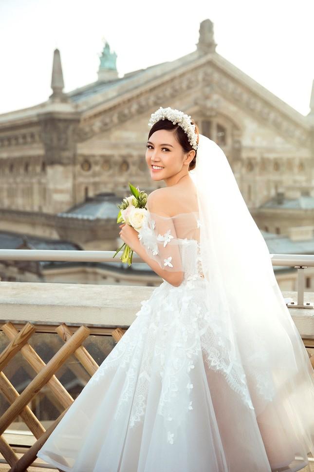 Ngọc Duyên khoe ảnh cưới lãng mạn ở Paris - ảnh 5