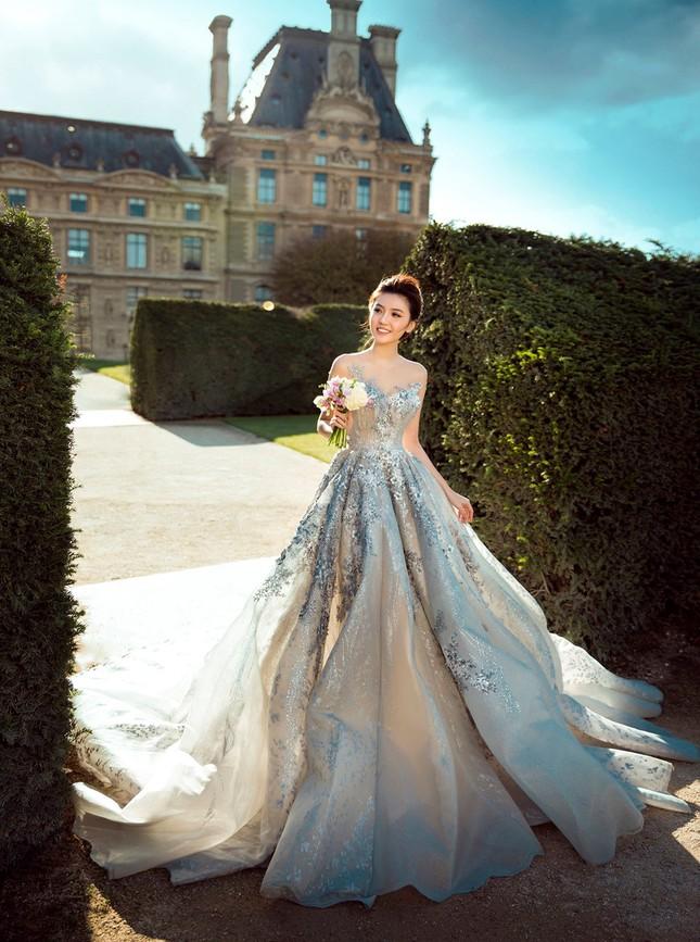 Ngọc Duyên khoe ảnh cưới lãng mạn ở Paris - ảnh 8