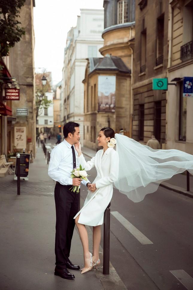 Ngọc Duyên khoe ảnh cưới lãng mạn ở Paris - ảnh 2