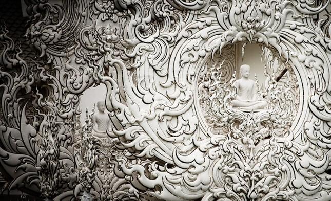Khám phá ngôi đền trắng kỳ dị ở Thái Lan - ảnh 6