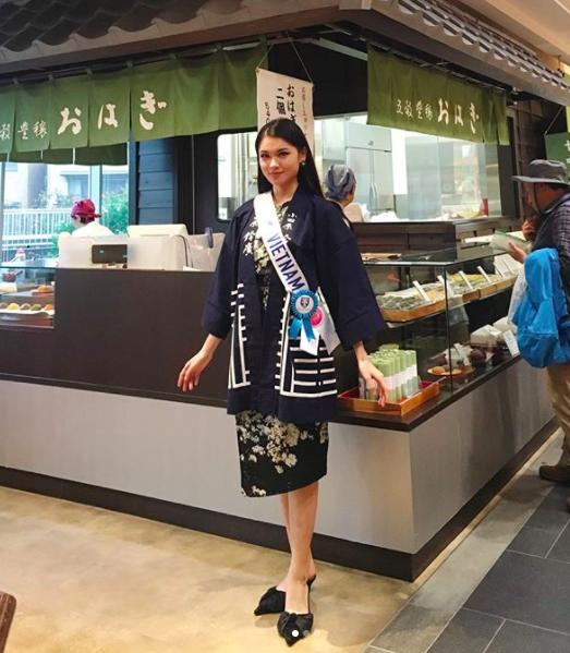 Thùy Dung trượt top 15 Hoa hậu Quốc tế 2017 - ảnh 4