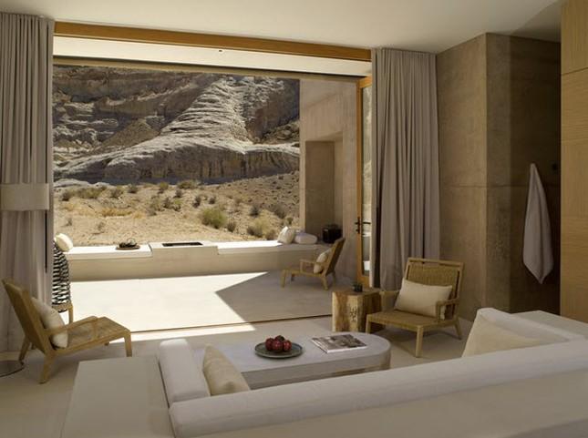 Phòng khách sạn 'trần trụi với thiên nhiên' - ảnh 2