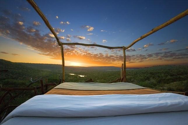 Phòng khách sạn 'trần trụi với thiên nhiên' - ảnh 6