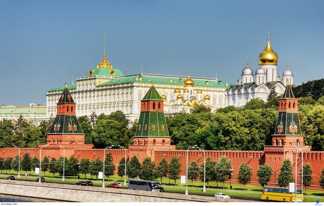7 công trình kiến trúc tuyệt đẹp của Nga - ảnh 1