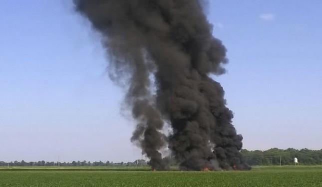 Hoa Kỳ: Máy bay quân sự rơi, 16 người thiệt mạng - ảnh 1