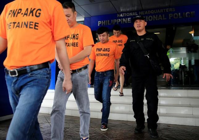 Philippines bắt giữ 43 người nước ngoài vì tội bắt cóc - ảnh 1