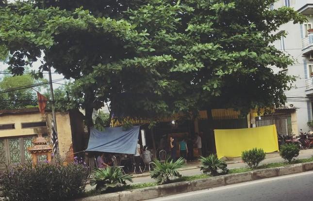 Vụ tự thiêu ở Thái Bình: Màu tang thương phủ lên cả khu phố - ảnh 1