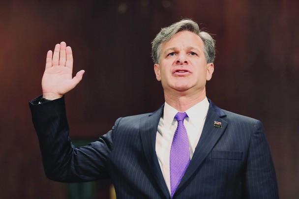 Chris Wray tuyên thệ nhậm chức Giám đốc FBI - ảnh 1
