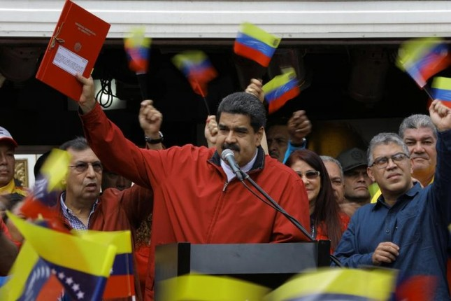 Mỹ trừng phạt Venezuela, Trung Quốc lên tiếng bảo vệ - ảnh 1