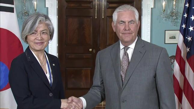 Mỹ-Hàn 'hài lòng' trước lệnh trừng phạt Triều Tiên - ảnh 1