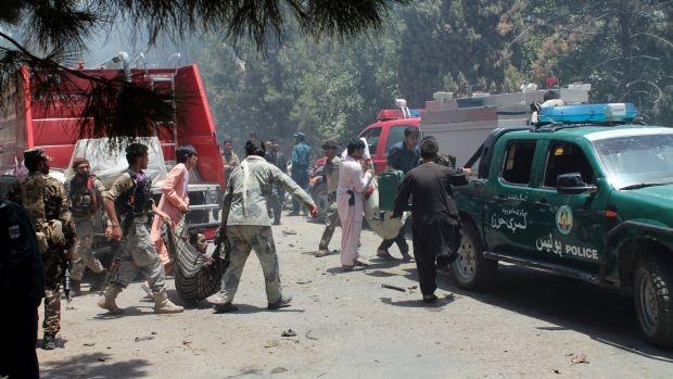Hàng chục người thiệt mạng trong một vụ khủng bố mới ở Afghanistan  - ảnh 1