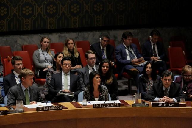 Hội đồng Bảo an LHQ lên án vụ phóng tên lửa của Triều Tiên - ảnh 1