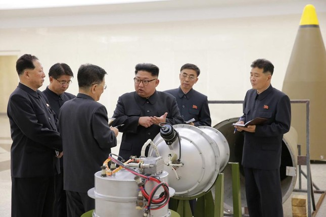 Triều Tiên tuyên bố đã phát triển vũ khí hạt nhân mới - ảnh 3