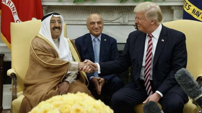 Trump sẽ 'dàn xếp' cuộc khủng hoảng Qatar - ảnh 1