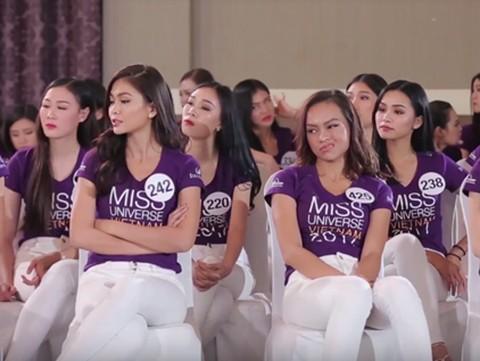 Hoa hậu Hoàn vũ Việt Nam 2017: Mai Ngô bị chỉ trích vì 'thái độ khác người' - ảnh 2