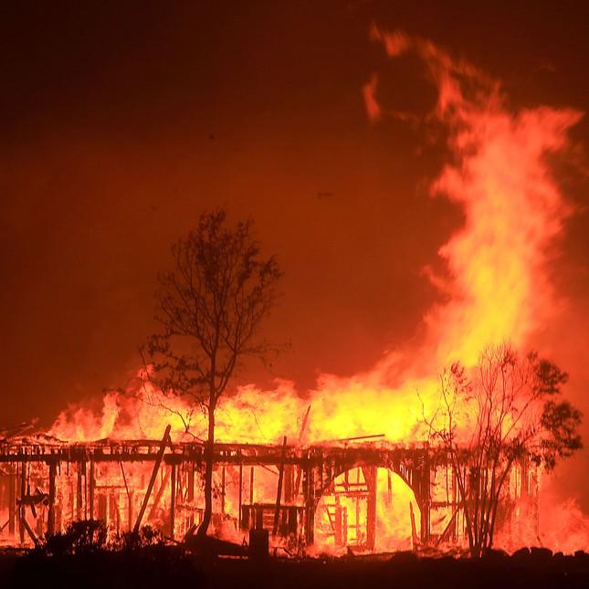Toàn cảnh sự tàn phá nặng nề của vụ cháy rừng lịch sử tại Mỹ - ảnh 8