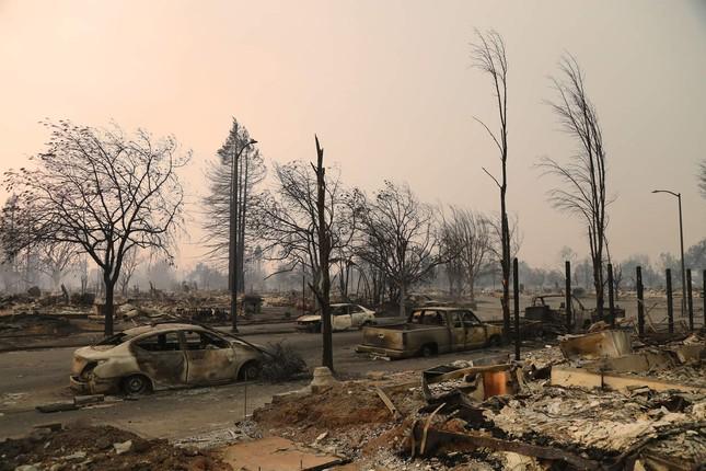 Toàn cảnh sự tàn phá nặng nề của vụ cháy rừng lịch sử tại Mỹ - ảnh 3