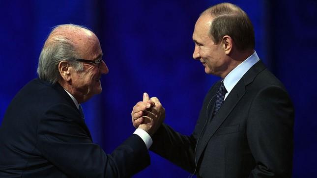 Cựu chủ tịch FIFA sẽ đến World Cup theo lời mời của Tổng thống Putin - ảnh 1