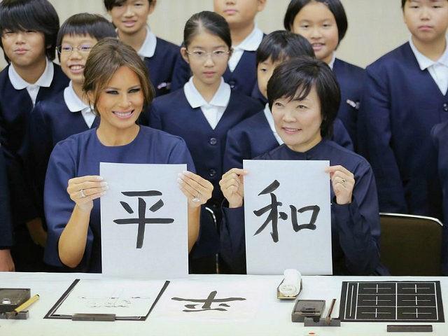 Đệ nhất phu nhân không cùng Tổng thống Mỹ thăm Việt Nam - ảnh 1