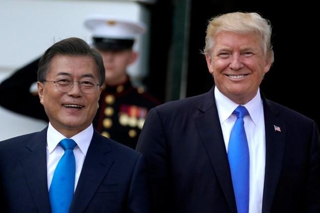 Tổng thống Trump hoãn chuyến thăm khu phi quân sự Hàn Quốc-Triều Tiên - ảnh 1