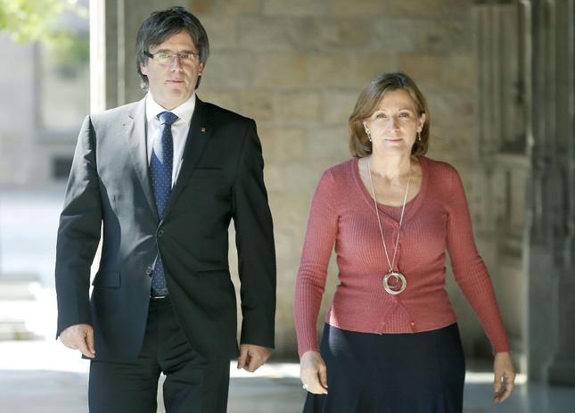 Bắt giữ cựu phát ngôn viên Catalonia - ảnh 1