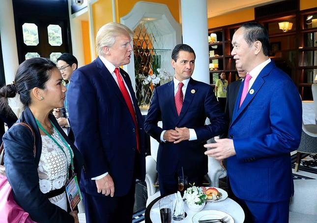 Những hình ảnh thú vị của các nhà lãnh đạo bên lề Hội nghị APEC - ảnh 2