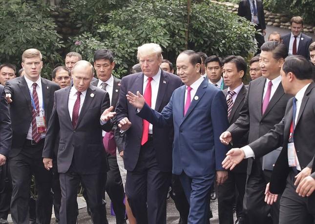Những hình ảnh thú vị của các nhà lãnh đạo bên lề Hội nghị APEC - ảnh 1