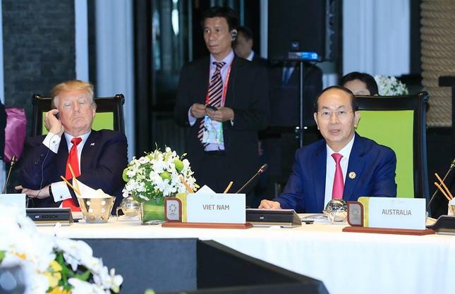 Những hình ảnh thú vị của các nhà lãnh đạo bên lề Hội nghị APEC - ảnh 4