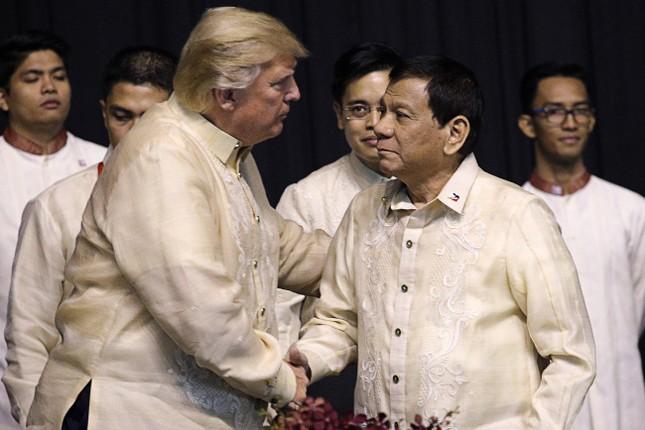 Tổng thống Trump không đề cập tới 'cuộc chiến ma túy' tại Philippines - ảnh 1