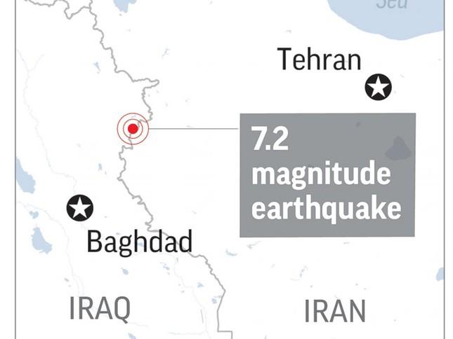 Động đất gần biên giới Iran-Iraq: Ít nhất 61 người thiệt mạng - ảnh 1