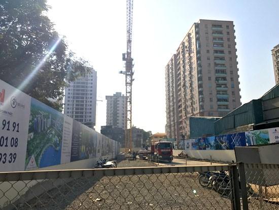 """Dự án """"Vedette"""" quận Thanh Xuân giá bèo vì ôm trọn nghĩa trang  - ảnh 3"""