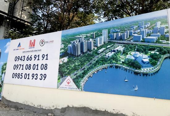 """Dự án """"Vedette"""" quận Thanh Xuân giá bèo vì ôm trọn nghĩa trang  - ảnh 5"""