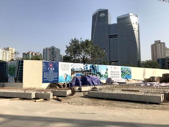 """Dự án """"Vedette"""" quận Thanh Xuân giá bèo vì ôm trọn nghĩa trang  - ảnh 1"""