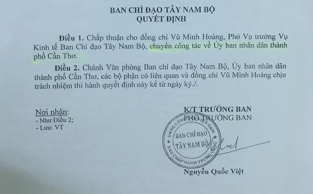 """Một cán bộ 9X ở Ban chỉ đạo Tây Nam Bộ được bổ nhiệm """"thần tốc"""" - ảnh 3"""