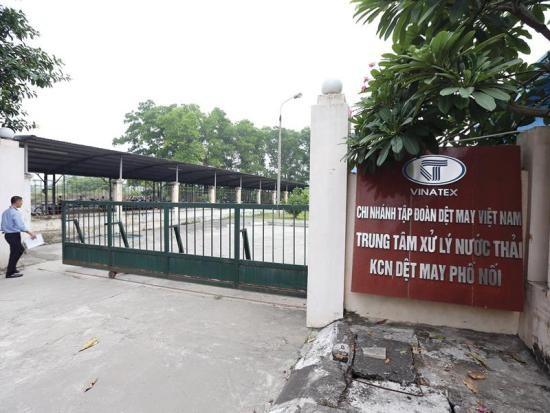 Xả thải gây ô nhiễm, Vinatex Hưng Yên bị phạt hơn 550 triệu đồng - ảnh 1
