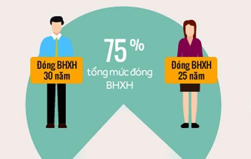 Từ 2018, muốn hưởng lương hưu tối đa phải đóng thêm 5 năm BHXH  - ảnh 3