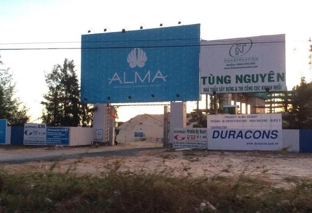 Khu nghỉ dưỡng Alma chậm tiến độ nghiêm trọng, liên tục bị tố giác  - ảnh 4