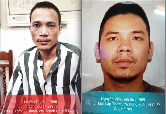 Truy tìm 2 tên tử tù đặc biệt nguy hiểm vượt ngục tại Hà Nội - ảnh 1