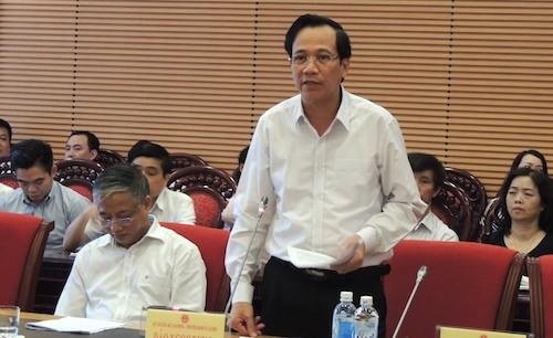 Bộ trưởng Đào Ngọc Dung: 'Bộ sẵn sàng ra toà nếu sai' - ảnh 1