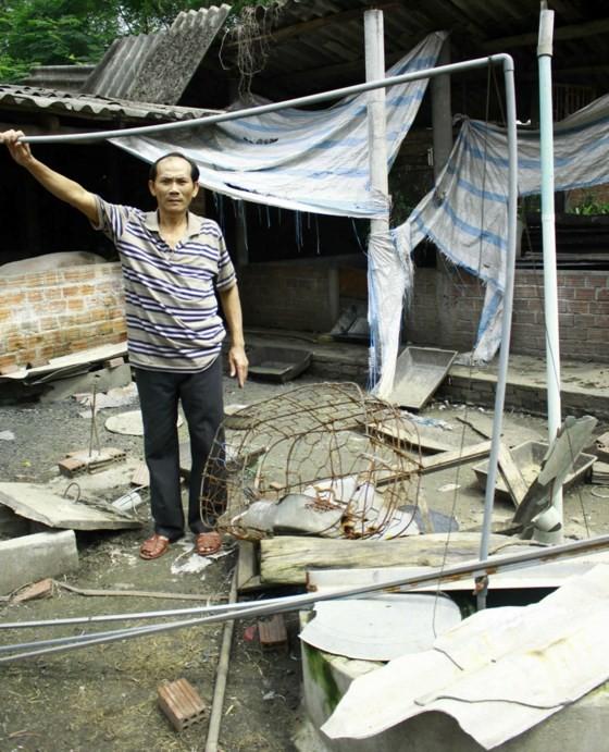 Hàng trăm hộ dân sống chung với ô nhiễm từ làng nghề bún - ảnh 1