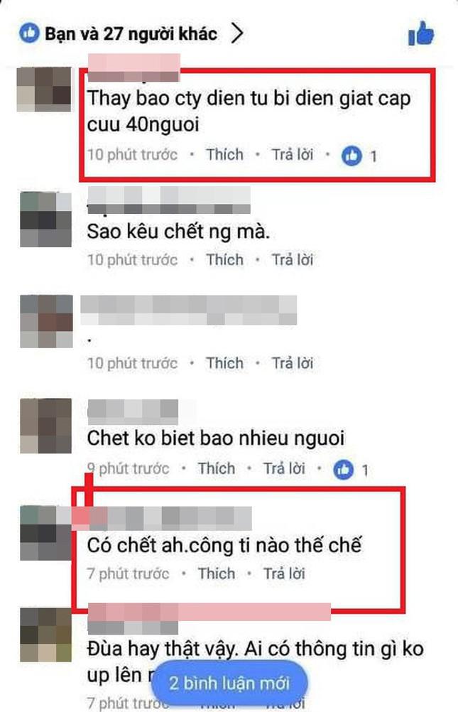 40 công nhân bị điện giật ở Hà Nam thật hay giả? - ảnh 1
