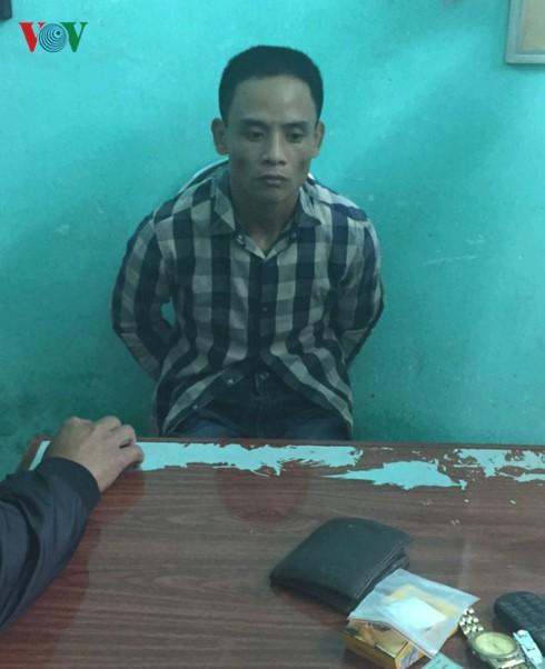 Trinh sát tóm gọn nhóm buôn ma túy có súng ở Quảng Bình - ảnh 1