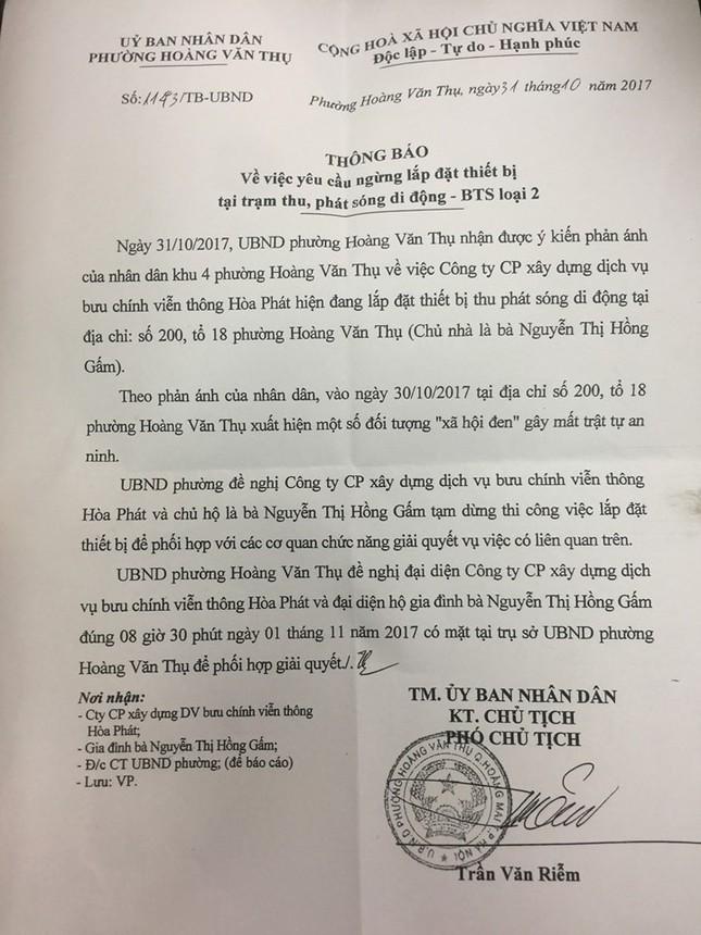 Côn đồ án ngữ bảo vệ trạm BTS vì bị cư dân phản đối tại Hà Nội  - ảnh 4