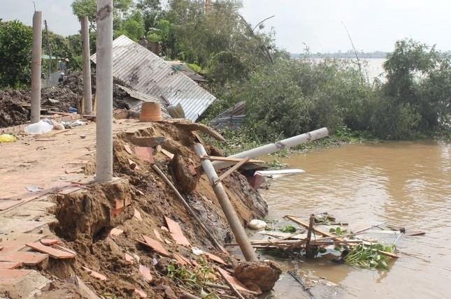 Bến Tre: Sạt lở nghiêm trọng tại huyện Chợ Lách - ảnh 1