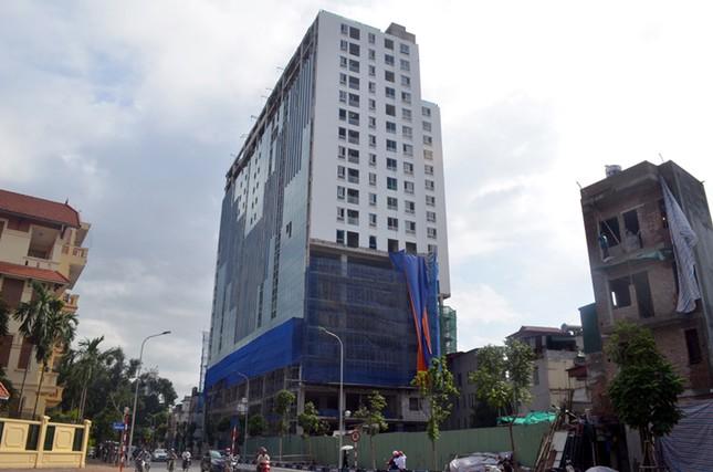 Những công trình vi phạm trật tự xây dựng trên địa bàn Hà Nội - ảnh 1