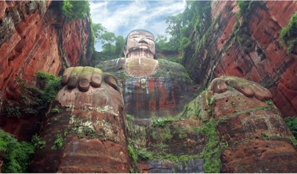 Bí ẩn bức tượng Lạc Sơn Đại Phật bốn lần rơi lệ trong lịch sử - ảnh 1