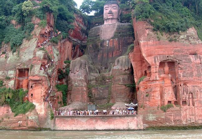 Bí ẩn bức tượng Lạc Sơn Đại Phật bốn lần rơi lệ trong lịch sử - ảnh 4