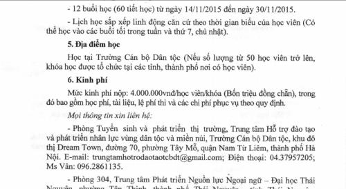 Bi hài giáo viên ở Hưng Yên nháo nhác 'mua' chứng chỉ - ảnh 2