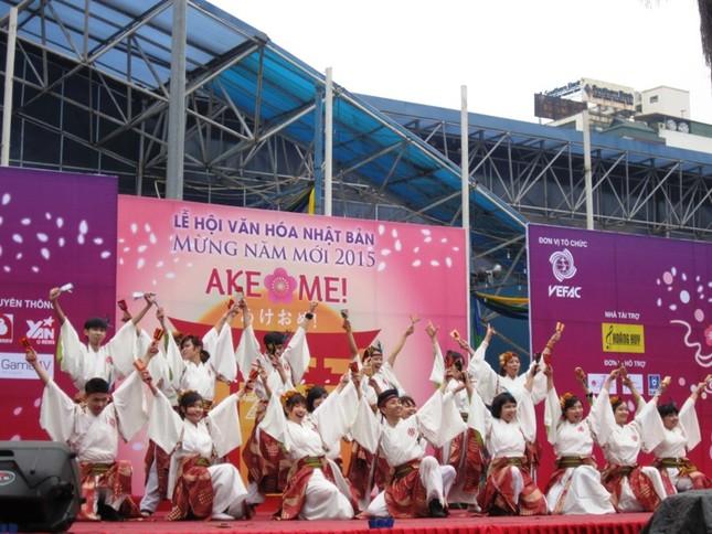 Lễ hội Văn hóa Nhật Bản Ake Ome chào năm mới 2016 - ảnh 1