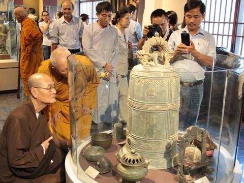 Khánh thành bảo tàng Văn hóa Phật giáo đầu tiên ở Việt Nam - ảnh 4